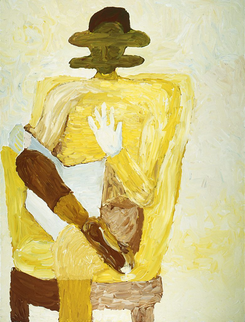 Un lector amarillo