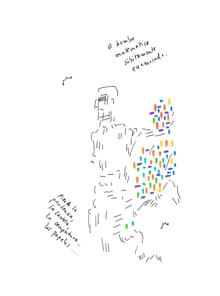 Dibujo de la «Vida puede ser una lata»